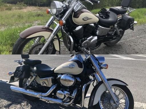Купили 2 неисправных мотоцикла